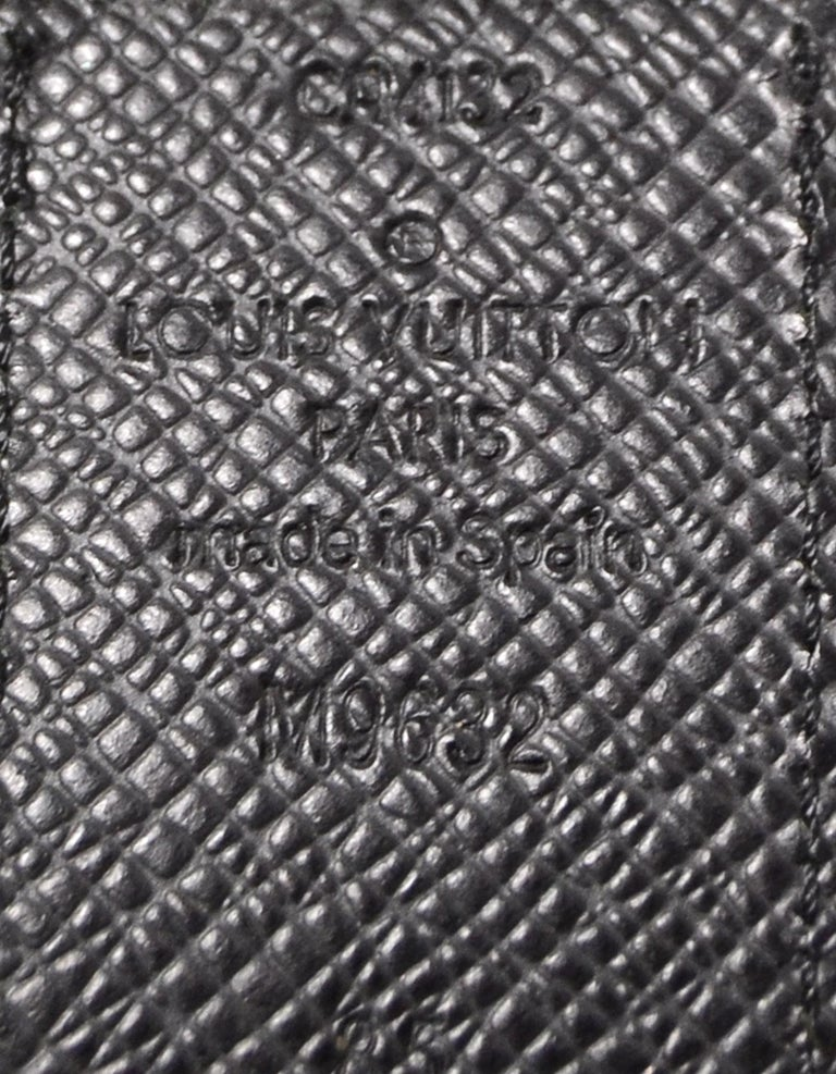 Louis Vuitton Damier Graphite 35mm Inventeur Reversible Belt sz 85cm/34