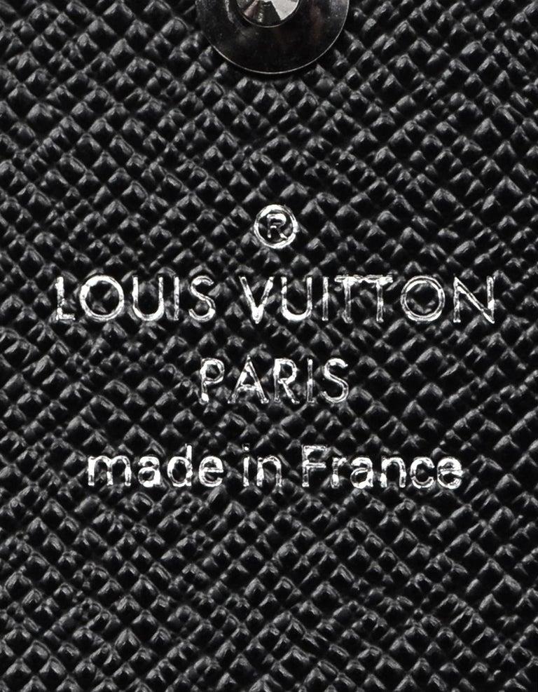 Louis Vuitton Damier Graphite Coated Canvas Key Holder For Sale 2
