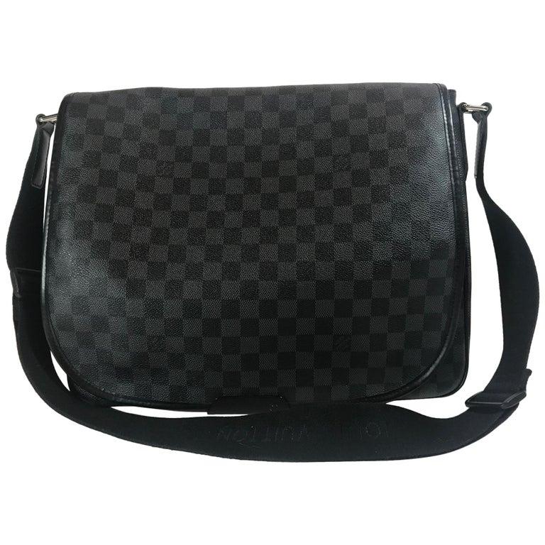 87551b976ad9c Louis Vuitton Damier Graphite Daniel MM For Sale at 1stdibs