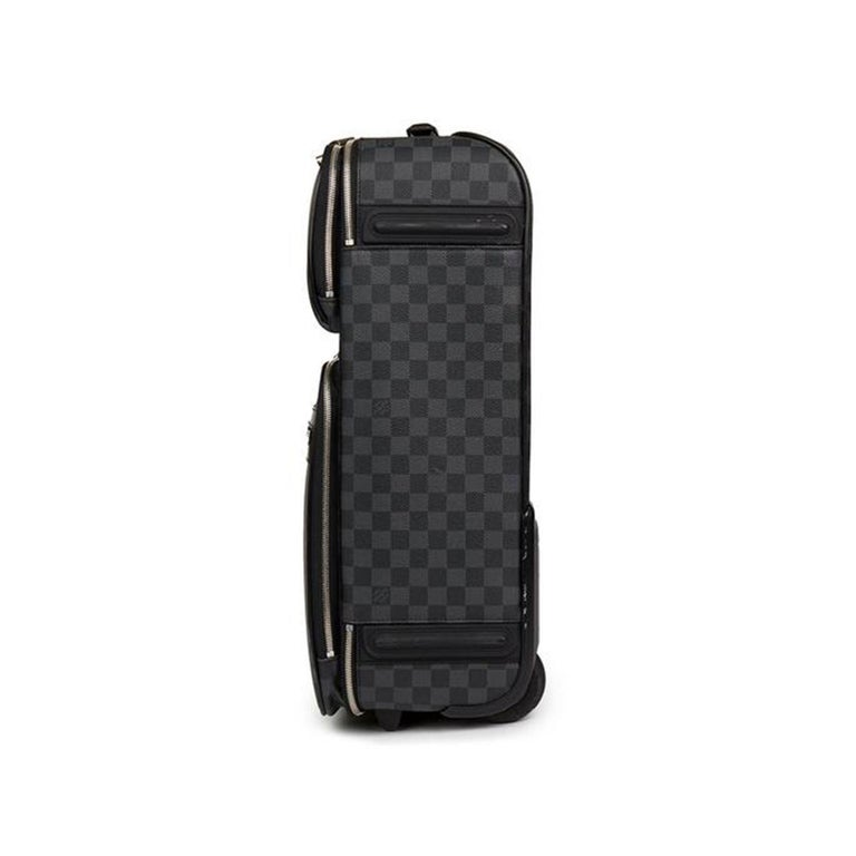 Black Louis Vuitton Damier Graphite Pegase 55 Business For Sale