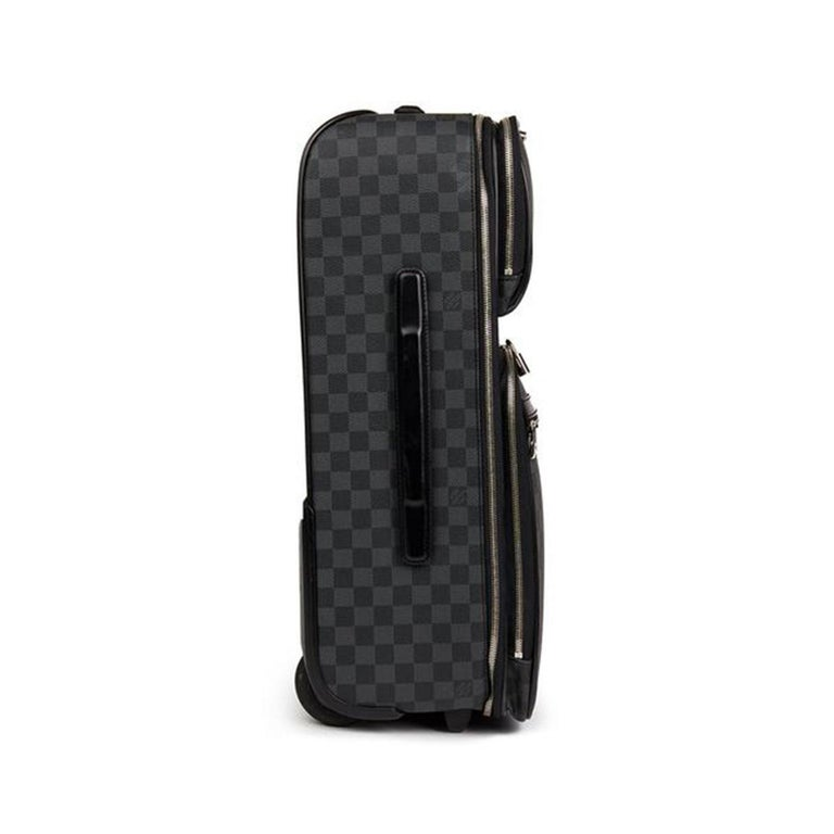 Women's or Men's Louis Vuitton Damier Graphite Pegase 55 Business For Sale