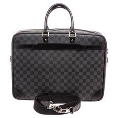 Louis Vuitton Damier Graphite Porte Documents Voyage Briefcase Bag