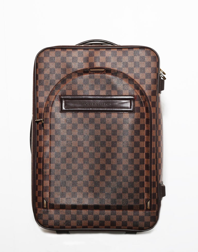 Louis Vuitton Damier Pégase 55 Travel Trolley Bag  Luggage In Good Condition For Sale In  Bilbao, ES