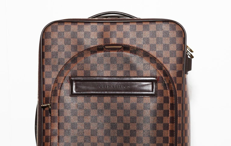 Women's or Men's Louis Vuitton Damier Pégase 55 Travel Trolley Bag  Luggage For Sale