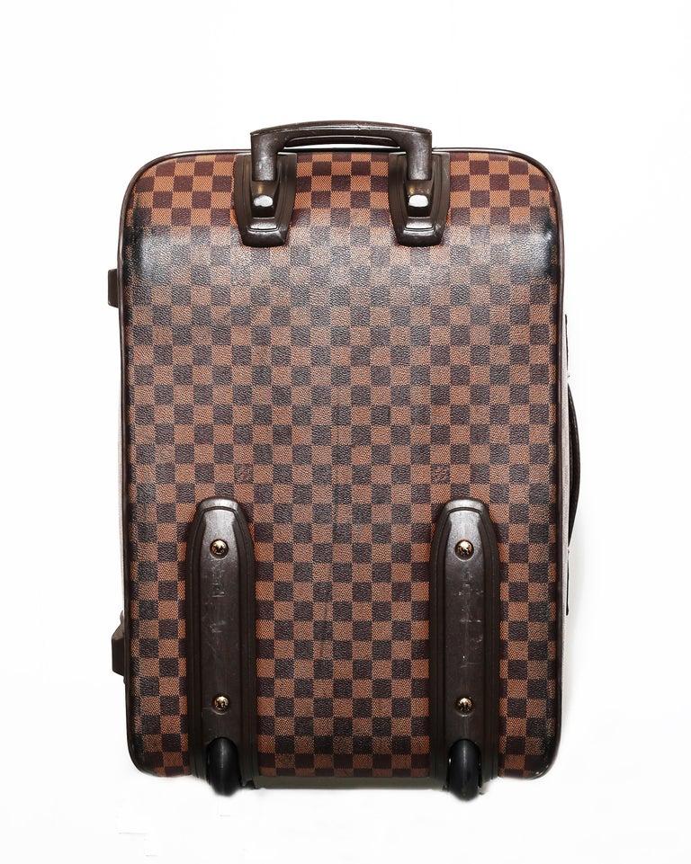 Louis Vuitton Damier Pégase 55 Travel Trolley Bag  Luggage For Sale 1
