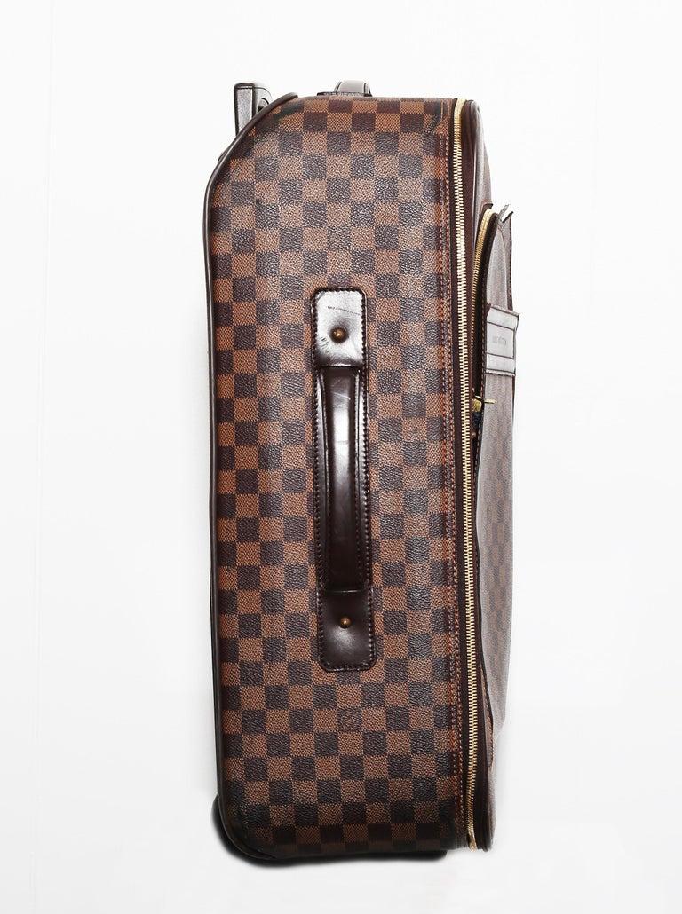 Louis Vuitton Damier Pégase 55 Travel Trolley Bag  Luggage For Sale 2