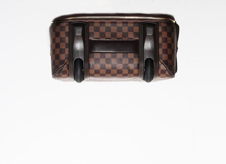 Louis Vuitton Damier Pégase 55 Travel Trolley Bag  Luggage For Sale 3