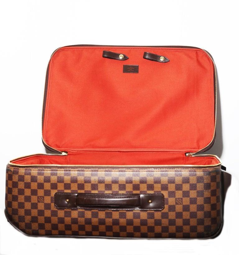 Louis Vuitton Damier Pégase 55 Travel Trolley Bag  Luggage For Sale 4