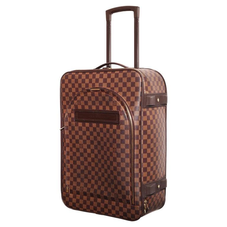 Louis Vuitton Damier Pégase 55 Travel Trolley Bag  Luggage For Sale