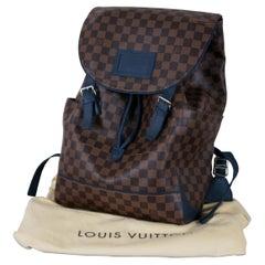 Louis Vuitton Damier Runner Backpack Shoulder Bag Tote Ebene Canvas N41377