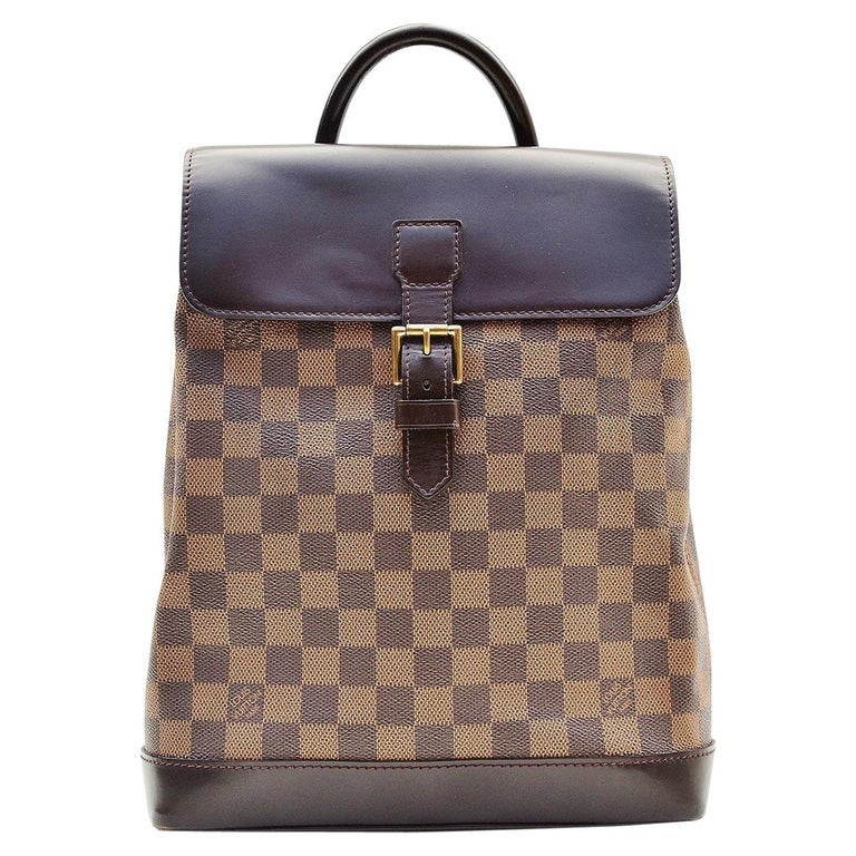 Louis Vuitton Damier Soho Backpack For Sale