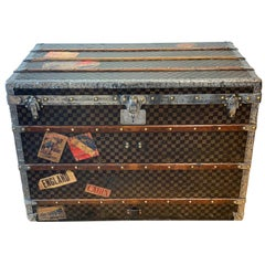 Louis Vuitton Damier Steamer Trunk, circa 1905