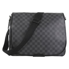 Louis Vuitton Daniel Messenger Bag Damier Graphite GM