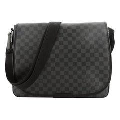 Louis Vuitton Daniel Messenger Bag Damier Graphite GM