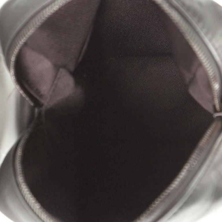 Louis Vuitton Danube Handbag Monogram Shadow Leather PM For Sale 1