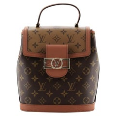 Louis Vuitton Dauphine Backpack Reverse Monogram Canvas PM