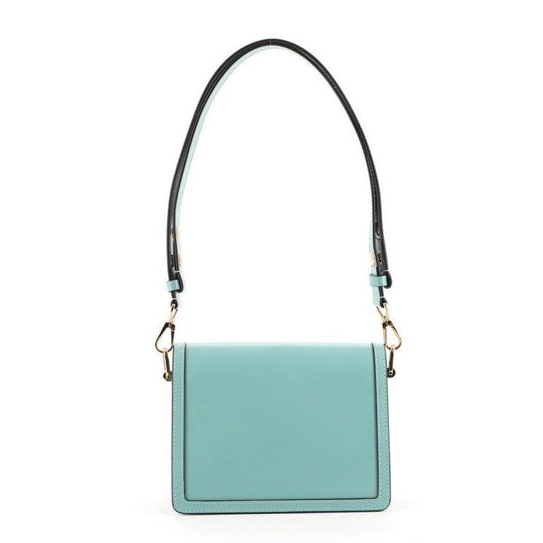 Blue Louis Vuitton Dauphine Shoulder Bag Taurillon Leather Mini For Sale