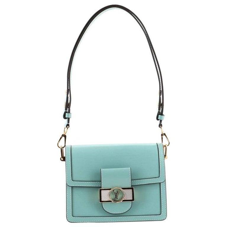 Louis Vuitton Dauphine Shoulder Bag Taurillon Leather Mini For Sale