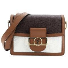 Louis Vuitton Dauphine Shoulder Bag Taurillon Leather Mini