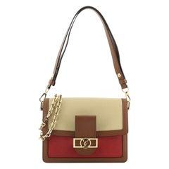 Louis Vuitton Dauphine Shoulder Bag Taurillon Leather MM