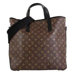 Louis Vuitton Davis Handbag Macassar Monogram Canvas