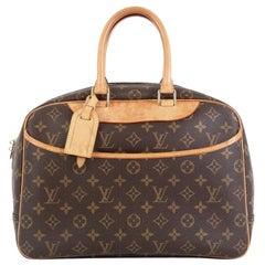 Louis Vuitton Deauville Handbag Monogram Canvas