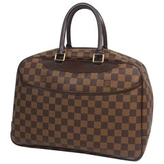 LOUIS VUITTON Deauville SPO Womens Boston bag N47272 Damier ebene