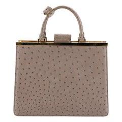 Louis Vuitton Deesse Handbag Ostrich MM