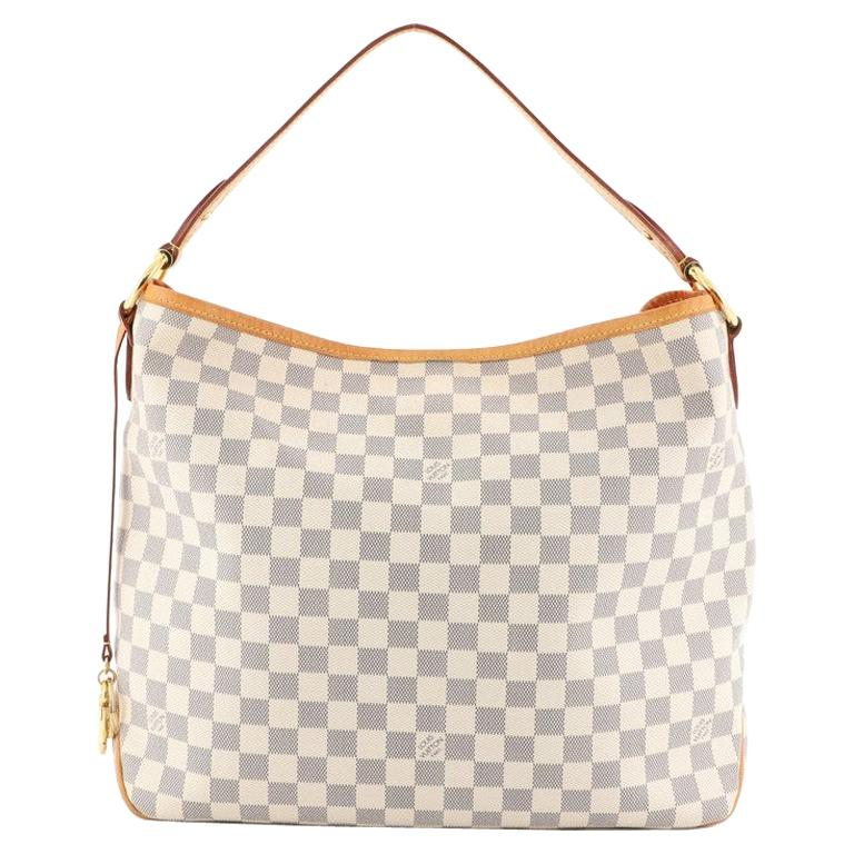 Louis Vuitton Delightful NM Handbag Damier MM For Sale
