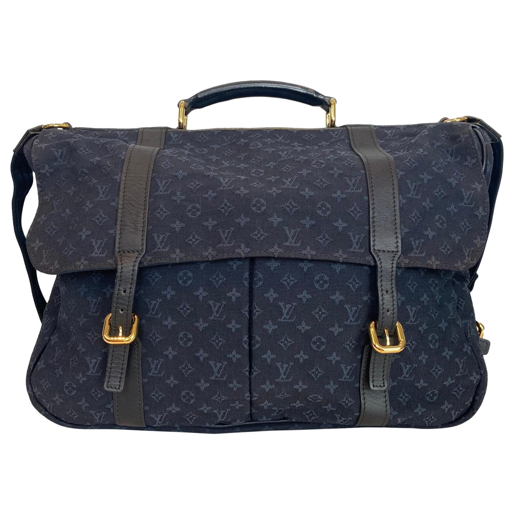 Louis Vuitton Denise Messenger Shoulder Bag in Monogram Idylle, France 2002.