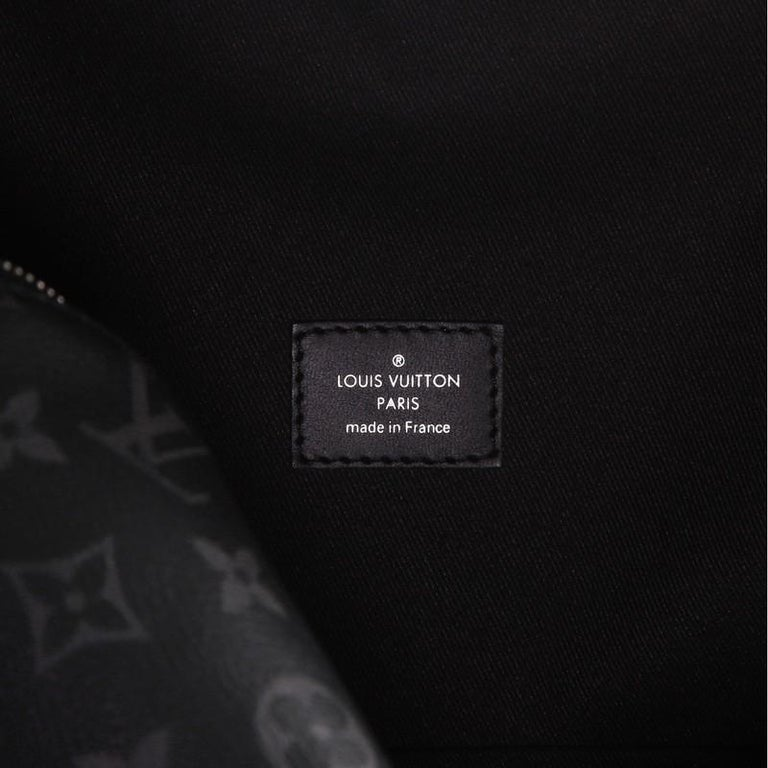 Louis Vuitton Discovery Backpack Monogram Eclipse Canvas PM For Sale 2