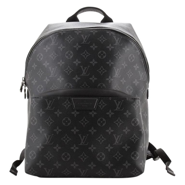 Louis Vuitton Discovery Backpack Monogram Eclipse Canvas PM For Sale