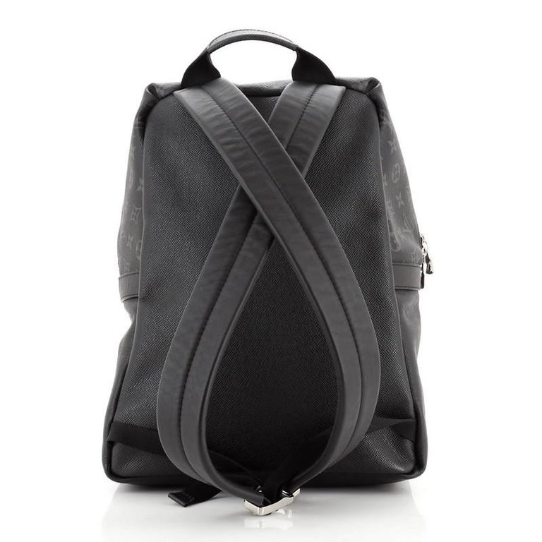 Women's or Men's Louis Vuitton Discovery Backpack Monogram Taigarama PM For Sale