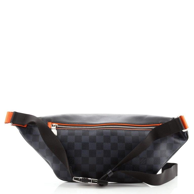 Black Louis Vuitton Discovery Bumbag Limited Edition Damier Cobalt Race For Sale