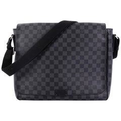 Louis Vuitton District Messenger Bag Damier Graphite MM,