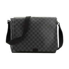 Louis Vuitton  District Messenger Bag Damier Graphite MM