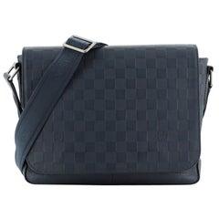 Louis Vuitton District Messenger Bag Damier Infini Leather PM