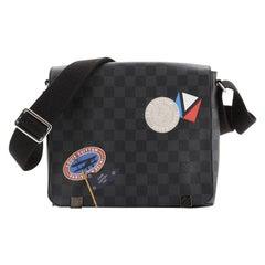 Louis Vuitton District Messenger Bag Limited Edition Damier Graphite LV League