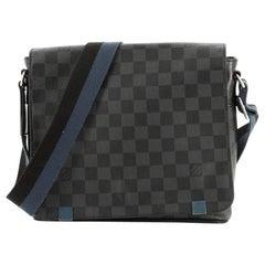 Louis Vuitton District NM Messenger Bag Damier Graphite PM