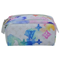 Louis Vuitton Dopp Kit Bag   Watercolors   New With Tags