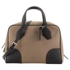 Louis Vuitton Dora Soft Handbag Canvas MM