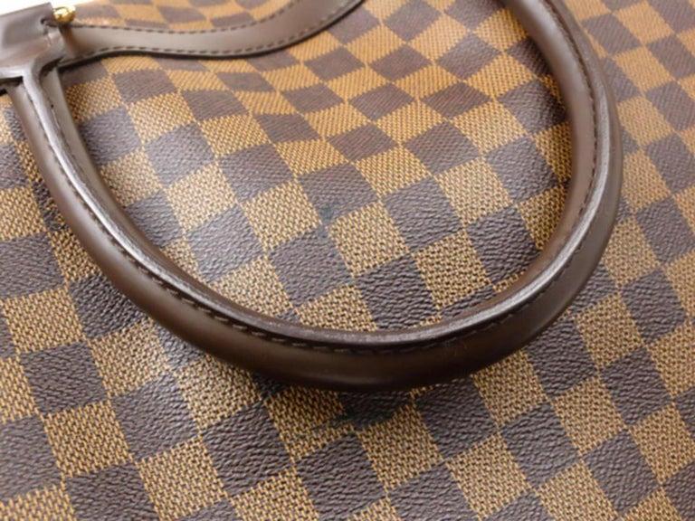 36c67ada6cf2 Louis Vuitton Duffle Eole Damier Ebene 50 Rolling Luggage 2way 234985 Travel  Bag For Sale 5