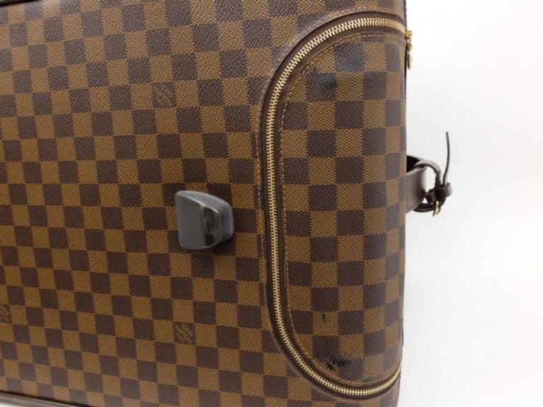 b8e89a001d67 Louis Vuitton Duffle Eole Damier Ebene 50 Rolling Luggage 2way 234985 Travel  Bag For Sale 3