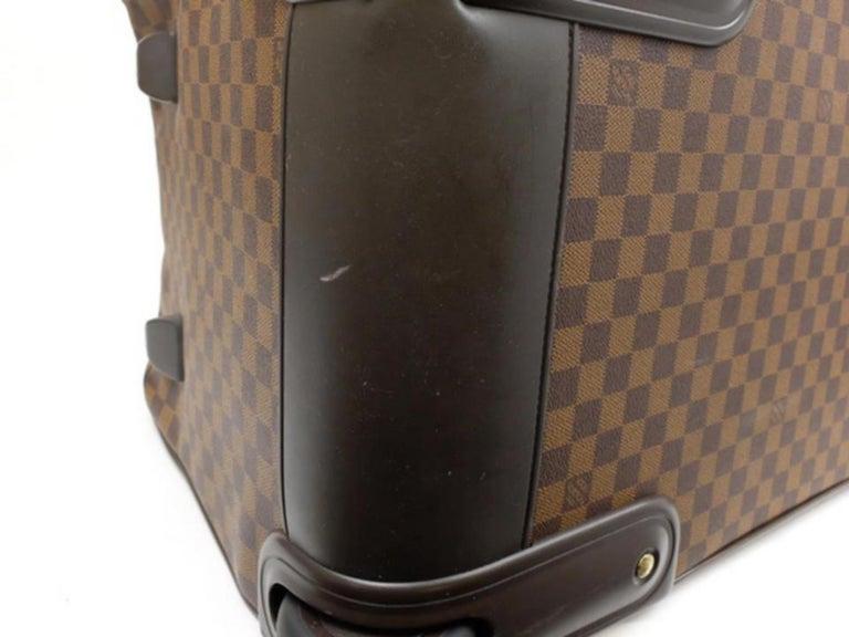 010aa86691c6 Louis Vuitton Duffle Eole Damier Ebene 50 Rolling Luggage 2way 234985 Travel  Bag For Sale 4