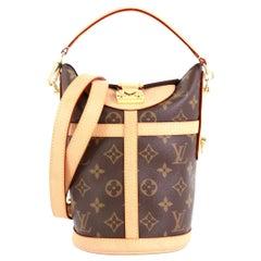 Louis Vuitton Duffle Handbag Monogram Canvas