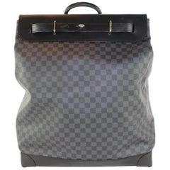 Louis Vuitton Duffle (Ultra Rare) Graphite Steamer Tote 9lz1128 Travel Bag