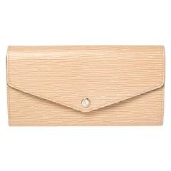 Louis Vuitton Dume Epi Leather Sarah NM Wallet