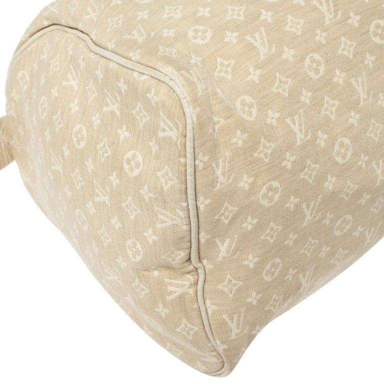 Louis Vuitton Dune Monogram Mini Lin Canvas Speedy 30 Bag 7