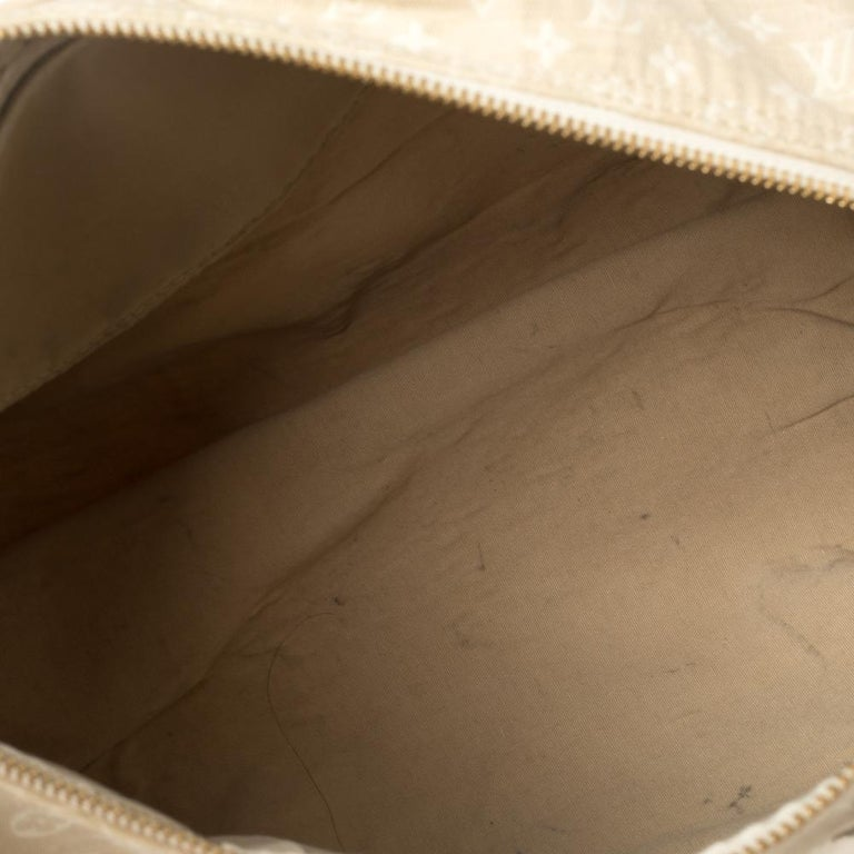Louis Vuitton Dune Monogram Mini Lin Canvas Speedy 30 Bag 1