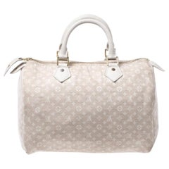 Louis Vuitton Dune Monogram Mini Lin Speedy 30 Bag